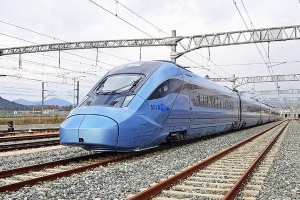현대 로템 개발 고속철도 KTX- 이음 출발